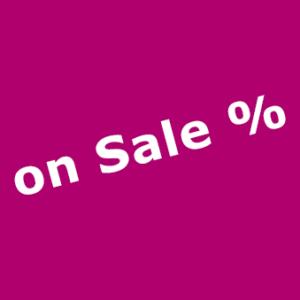 On Sale %