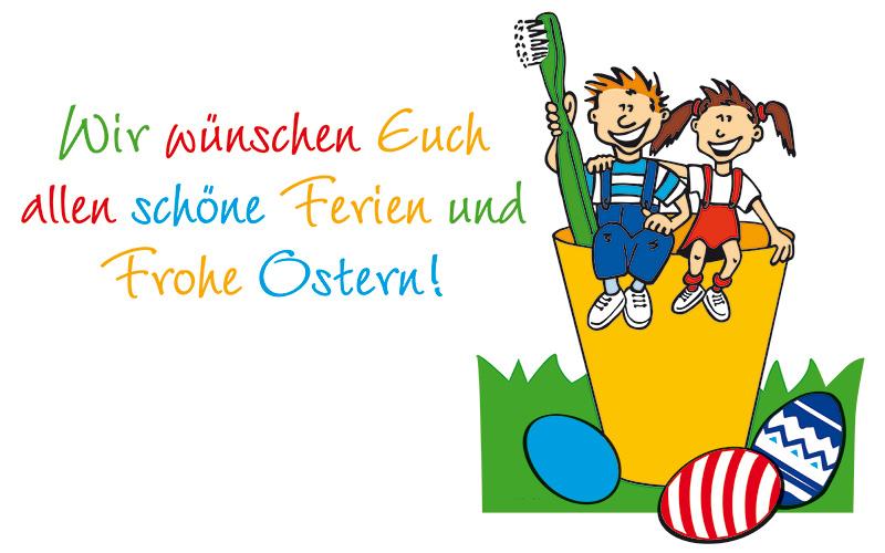Wir wünschen Euch allen schöne Ferien und Frohe Ostern!