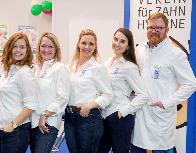 Das Team des VfZ auf der didacta 2018