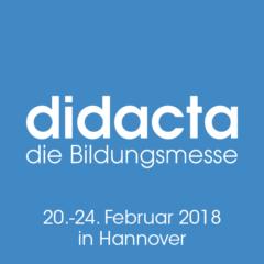 didacta die Bildungsmesse 20.-24. Februar 2018 in Hannover