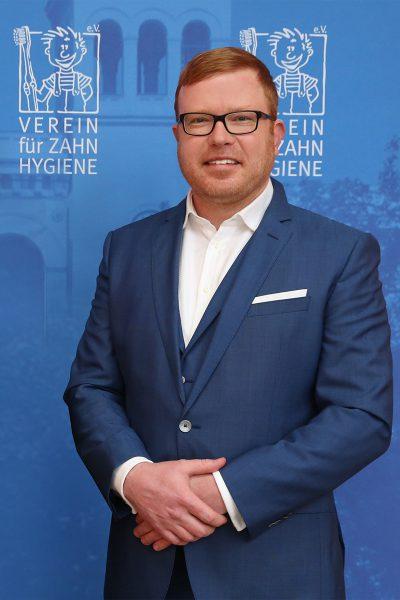 Dr. Christian Rath; Geschäftsführer des Vereins für Zahnhygiene e.V.