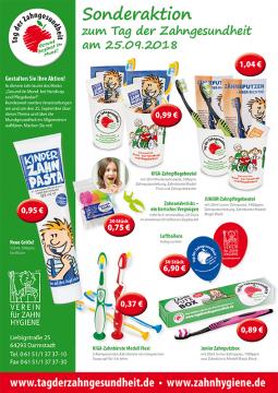 Download Flyer Sonderaktion Tag der Zahngesundheit 2018