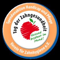 Spendenaktion Tag der Zahngesundheit Button