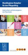 Flyer Mundhygiene Pflegealltag Titel