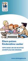 VfZ Broschüre Eltern putzen Kinderzähne sauber
