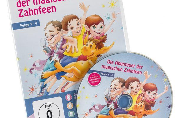 """VfZ DVD """"Die magischen Zahnfeen"""" Hülle und DVD"""