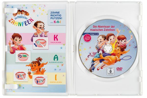 """VfZ DVD """"Die magischen Zahnfeen"""" Tray innen"""