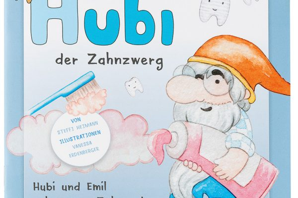 """VfZ Kinderbuch """"Hubi der Zahnzwerg"""" Titel"""