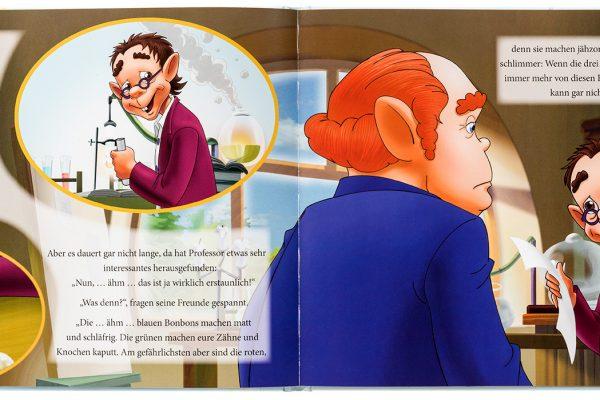 """VfZ Kinderbuch """"Die magischen Zahnfeen"""" Innenseiten"""