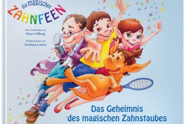 """VfZ Kinderbuch """"Die magischen Zahnfeen"""" Titel"""