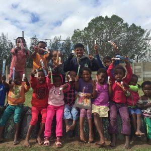 Spendenaktion für Kinderheim in Südafrika des Vereins für Zahnhygiene